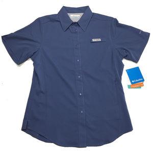 Columbia PFG Button Shirt Crystal Springs